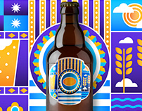 Efes Pilsen - Beer Packaging Illustration