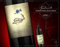 SAINT GABRIEL WINE LABEL