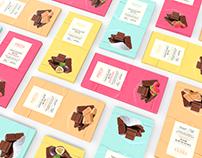 Freya Chocolate - Packaging Design