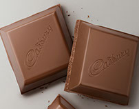 CADBURY CHOCOLATE CUBE - CGI