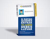 Rompetrafico - uso del carné institucional.