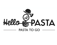 Logo case study for a pasta fast food restaurant