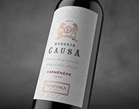 Honoris Causa. Témpora Wines.