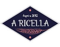 "Logo for ""A Ricella', a bakery in Barchetta, Corsica"