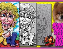 Nancy & Scooby's Special Speed Draw!