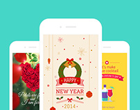 Pinnattas - Interactive greeting cards