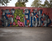 Graffiti Walls selection - 2013-2016