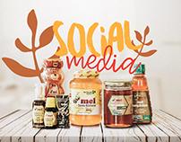 Mel Santa Bárbara - Social Media