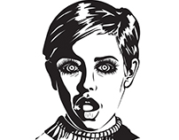 Famous Face: Twiggy