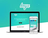 keyx - mobile app