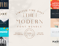 THE MODERN FONT BUNDLE