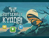 Butterflies match game UI and gfx