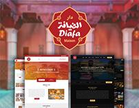 Dar Diafa Hotel & Restaurant Webdesign