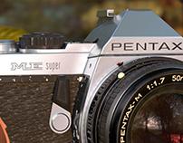 Pentax ME super CGI