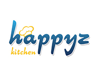 Happyz Kitchen & Laundry Logo Design