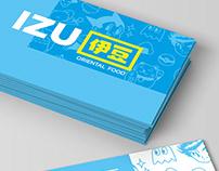 Izu Oriental Food - Branding and Illustration