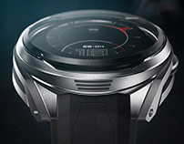 A.D.E. Holographic watch n°1