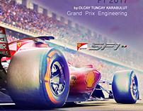 Formula 1 Ferrari Haloscreen Concept Design 2017
