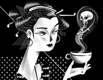 Black & White Illustrations