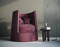 Faina | armchair LONO Open