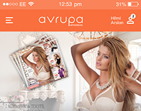 Avrupa Networking Mobile App Design