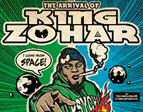 The Arrival of King Zohar -poster