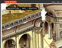 Web site design for illustrator Tiziano Perotto