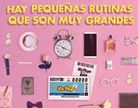 ONCE. Las Rutinas