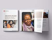British Red Cross - report design