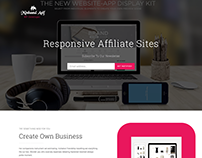 Responsive affiliate site design _ By Minhazul Asif