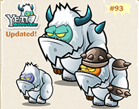Yeti 2D Game Character Sprite Sheets