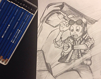 Back To The Future - Draw