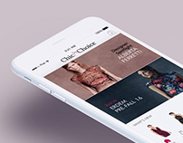 Chic by Choice iOS App UI Design