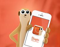 Shopin / mobile app microsite