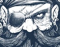 Tshirt - Pirate - Caráter