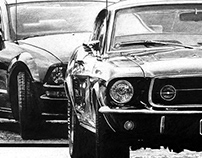 Cars in Graphite