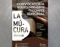 Afiche - Convocatoria La Múcura.