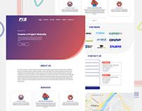 Landing page redesign UI/UX