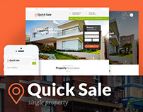 Quick Sale | Single Property Real Estate Theme