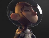 Astronalt boy