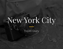 NYC '16 - travel diary