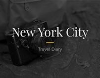 NYC '16 - travel diary