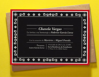 Chavela Vargas - Concert invitation