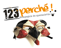 123 Perché ! Cie de spectacles de rue /// Logotype