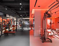 DEPO Fitness, interior photography