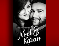 Save the Date for Neet & Karan