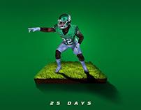 25 Days: by Brett Gemas