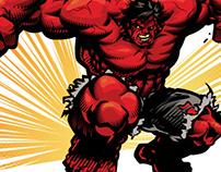 The Incredible Hulk Vector Fan Art