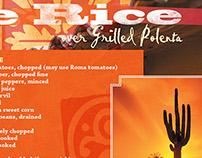 Santa Fe Rice Recipe Spread (2009)