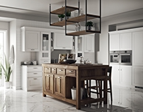Scavolini kitchen - 3D render